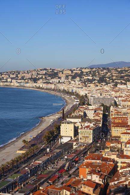 France- Provence-Alpes-Cote d'Azur- Nice- Promenade des Anglais