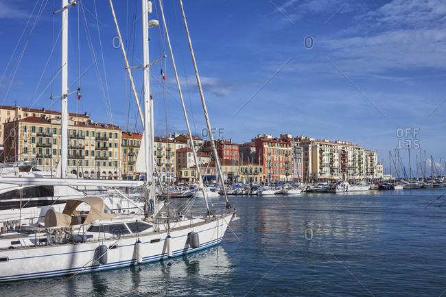 France- Provence-Alpes-Cote d'Azur- Nice- Port Lympia