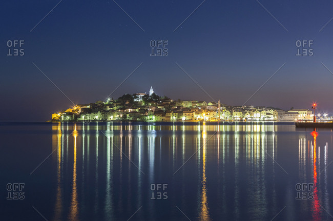 Croatia- Primosten at night