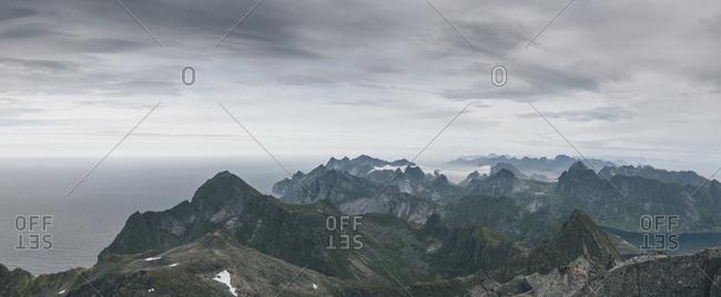 Norway- Lofoten- Moskenesoy- Hermannsdalstinden