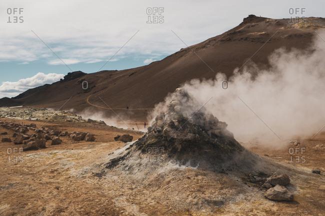Iceland- Hverarond field