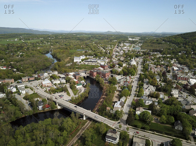 Otter Creek and Middlebury, Vermont