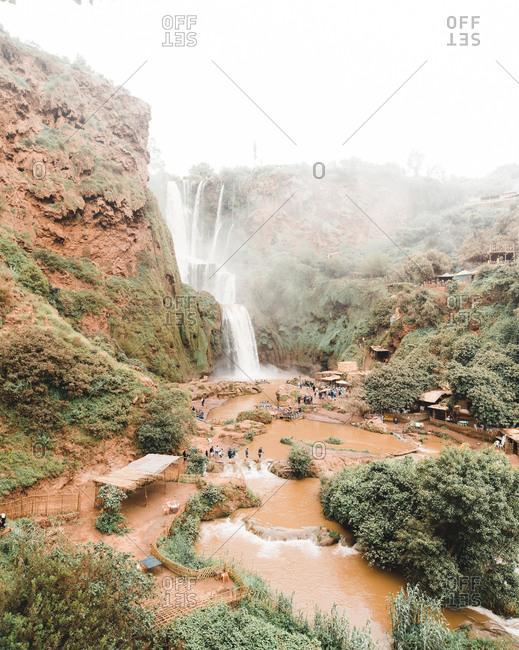 Ouzhoud Waterfalls in Morocco