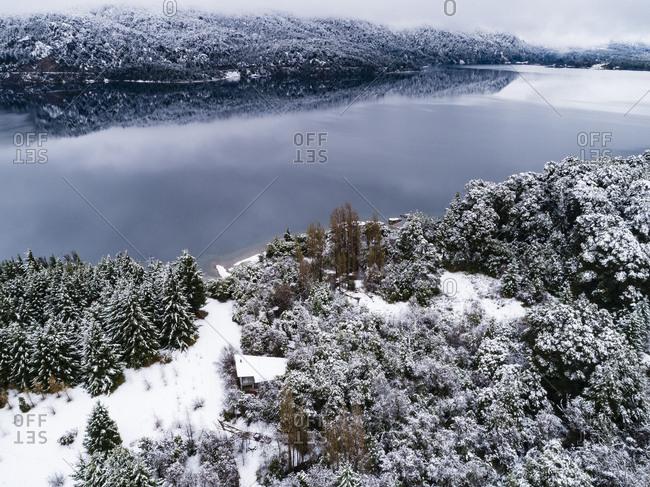 Moreno Lake at wintertime, Bariloche, Argentina