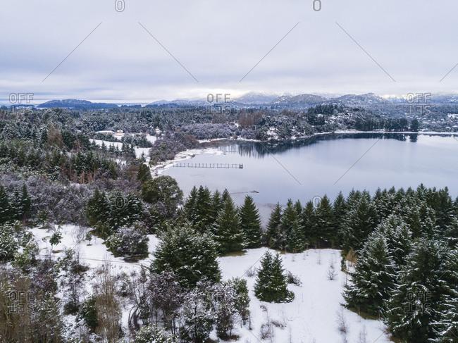 Winter at Moreno Lake, Bariloche, Argentina