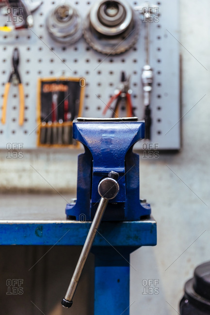 Tool in a mechanical workshop