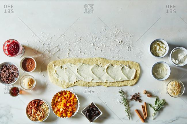 Danish kringle pastry