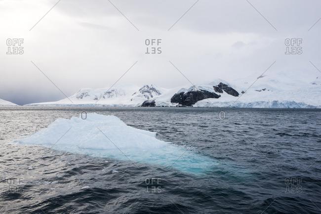 Antarctic- Antarctic Peninsula- iceberg