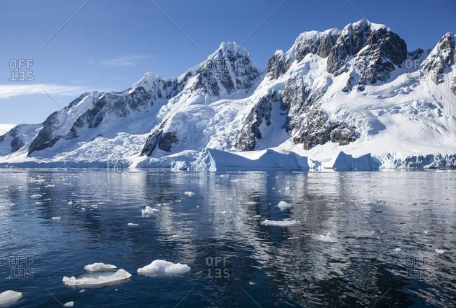 Antarctic- Antarctic Peninsula- iceberg in Antarctic Ocean