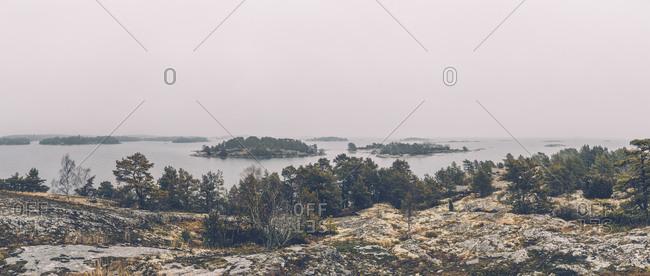 Sweden- Sodermanland- archipelago landscape