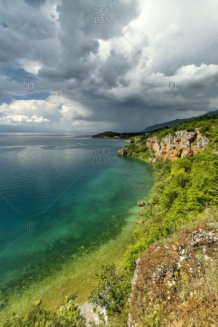 Macedonia- Ohrid Municipality- Ohrid- Bay of Bones