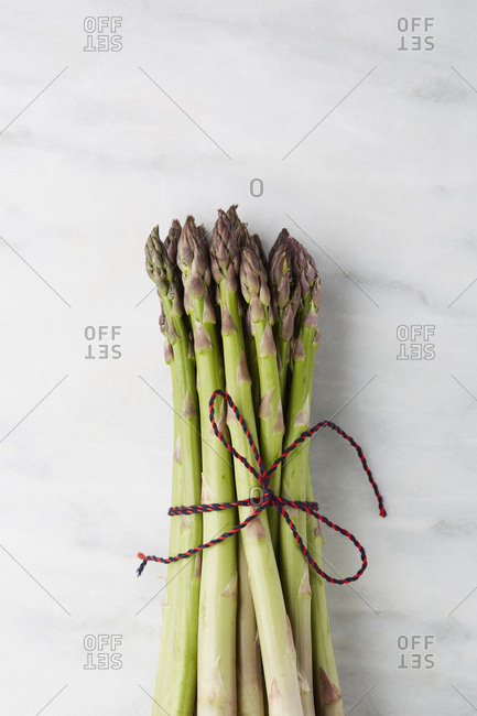 Asparagus tied with string - Offset
