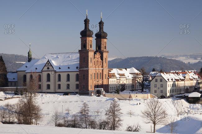 Benediktiner Kloster St. Peter, Glottertal, Black Forest, Baden-Wurttemberg, Germany