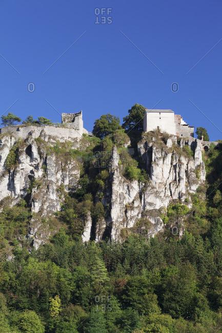Castle Arnsberg, Arnsberg, nature reserve Altmuehl valley, Upper Bavaria, Germany