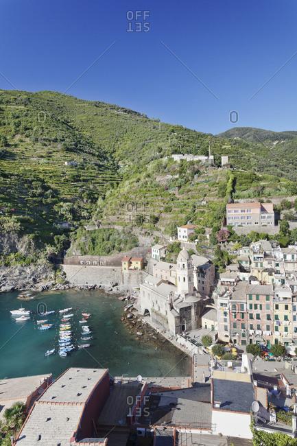 Vernazza, Cinque Terre, Rivera di Levante, province of La Spezia, Liguria, Italy