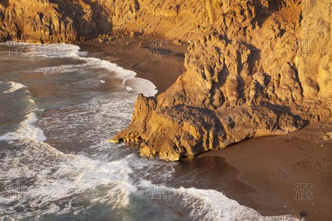 Zamora Strand (Playa de la Zamora) at Fuencaliente, La Palma, Canary islands, Spain