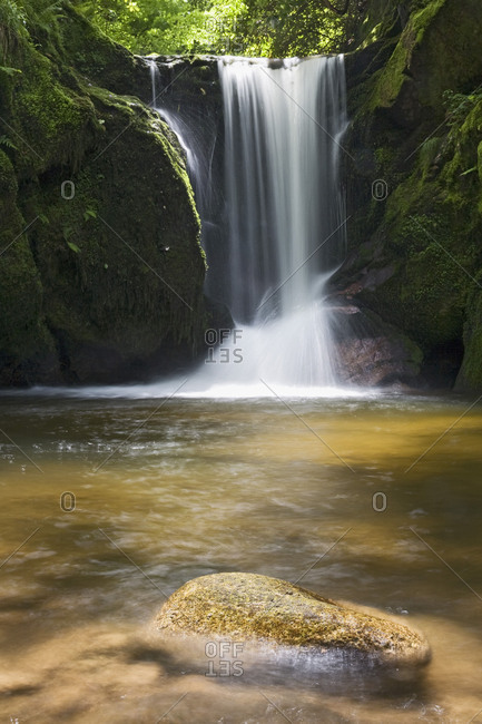 Geroldsauer Wasserfall, Black Forest, Baden-Wurttemberg, Germany
