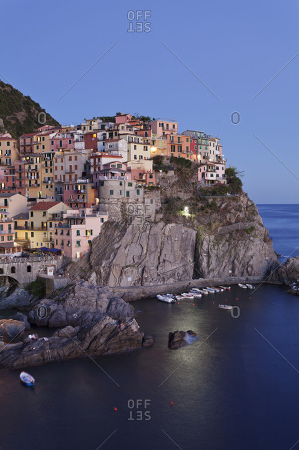 Manarola, Cinque Terre, Rivera di Levante, province of La Spezia, Liguria, Italy