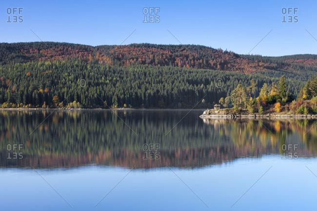 Schluchsee, Black Forest, Baden-Wurttemberg, Germany