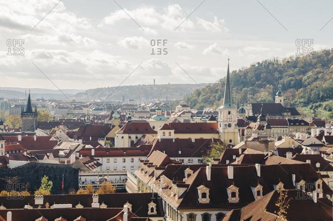View of Prague, Czech Republic.