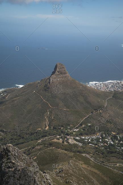 Peak of Lion's Head in Cape Town
