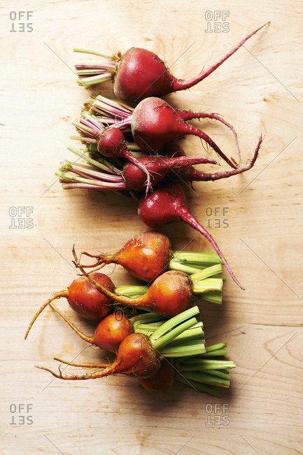 Chioggia and Golden beetroot