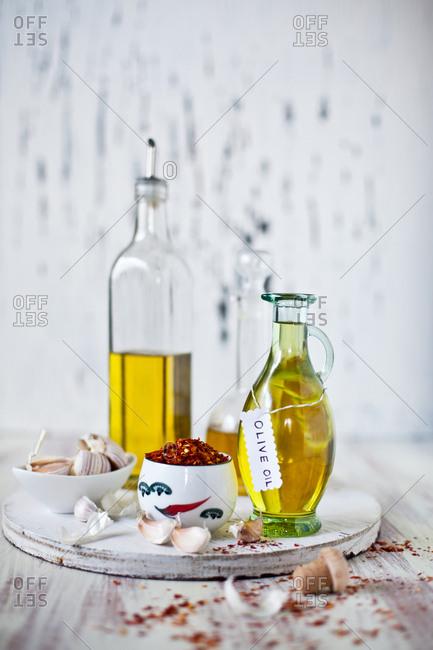 Ingredients to prepare Italian food