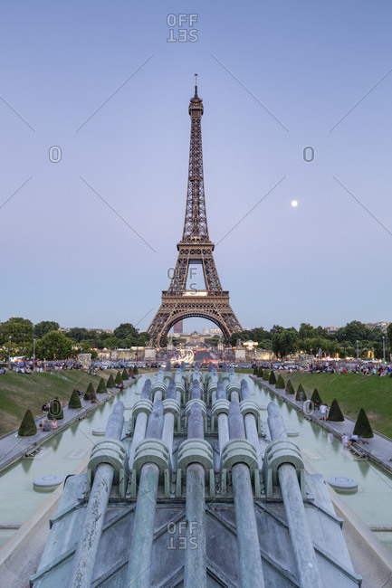 France- Paris- Eiffel Tower