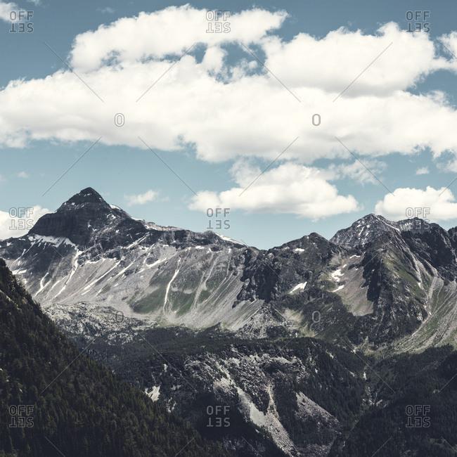 Italy- Lombardy- Bernina Range- Pizzo Scalino