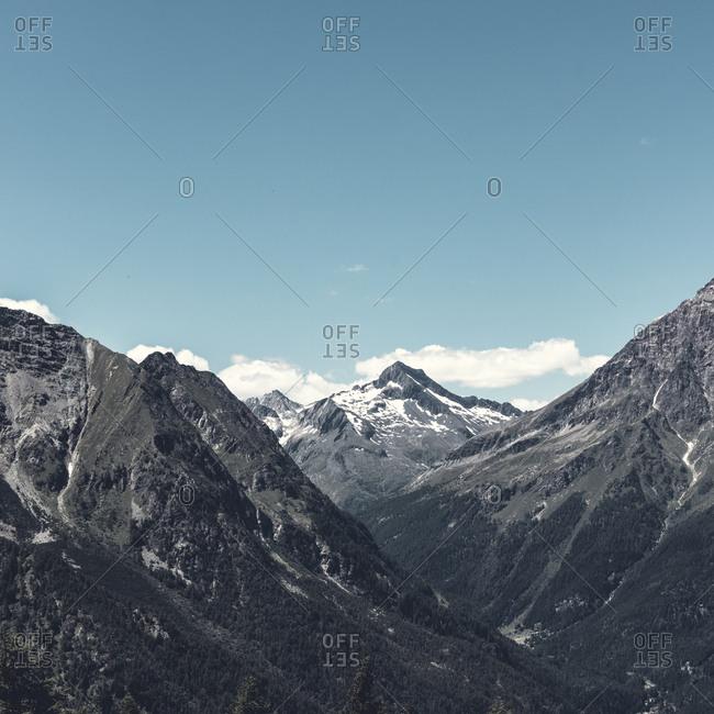 Italy- Lombardy- Bernina and Murettopass massif