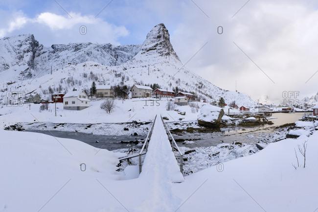 Norway- Lofoten- Reine- bridge
