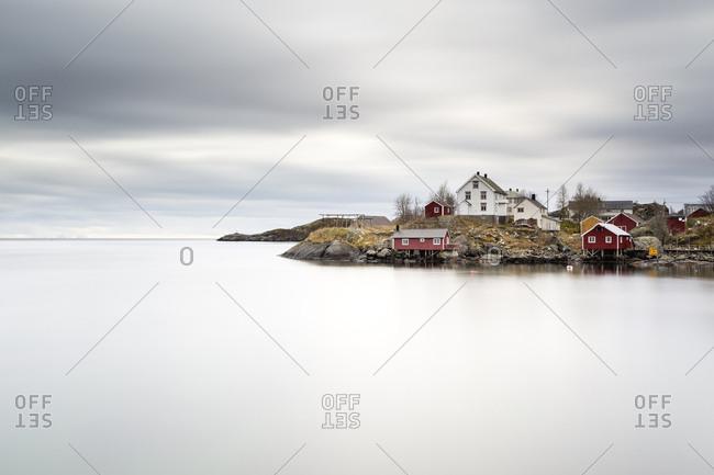 Norway- Lofoten- Nusfjord- Hamnoy