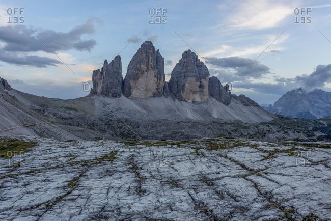 Italy- Sexten Dolomites- Tre Cime di Lavaredo- Nature Park Tre Cime