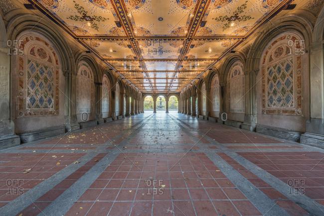 USA- New York City- Manhattan- Central Park