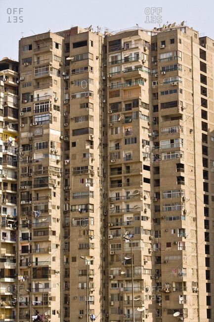 A high rise in Cairo.
