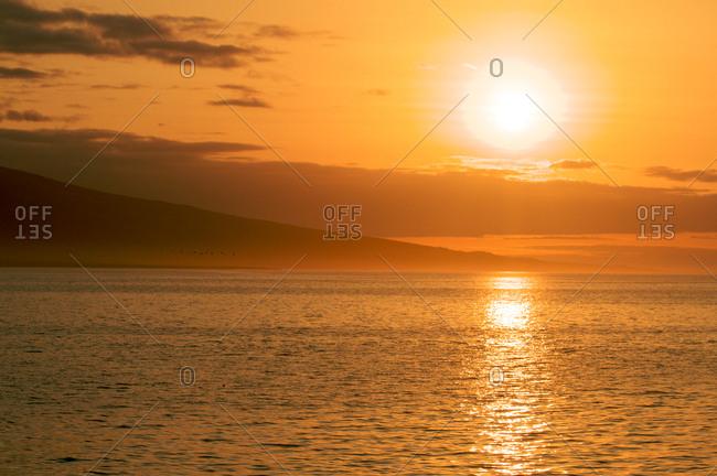 Sundown in Galapagos