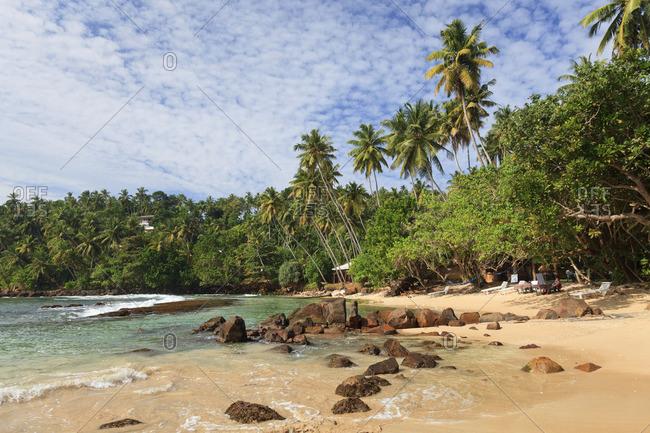 Sri Lanka, South Coast, Mirissa, Beach