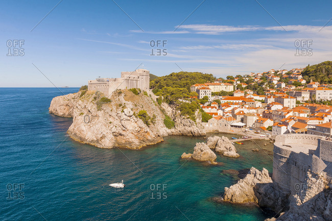 Croatia, Dubrovnik, Lovrijenac fort