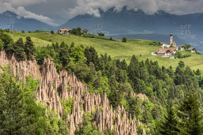 Earth pyramids, Renon - Ritten, Trentino Alto Adige - South Tyrol, Italy
