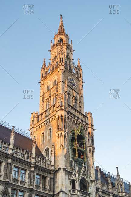 Rathaus (Town Hall), Marienplatz, Munich, Bavaria, Germany