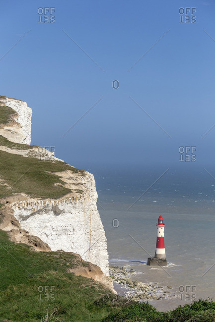 UK, England, Great Britain, South Downs National Park, South Downs Way, British Isles East Sussex Beachy Head Lighthouse