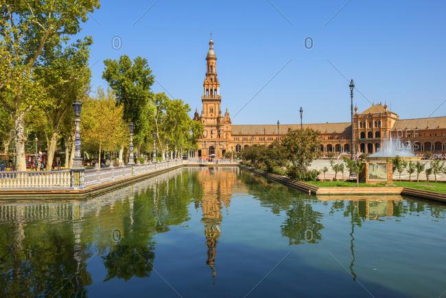 Plaza de Espana, Sevilla, Andalusia, Spain