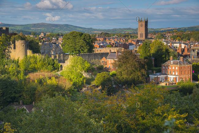 UK, England, Shropshire, Ludlow, St Laurence's Church