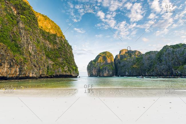 Ao Maya Beach (Maya Bay), Ko Phi Phi Leh, Krabi Province,