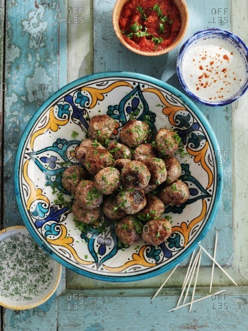 Albondigas (meatballs, Spain)