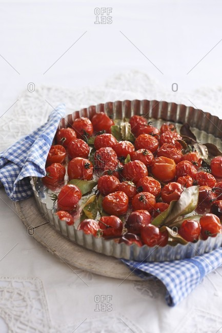 Oven-baked cherry tomatoes - Offset Collection