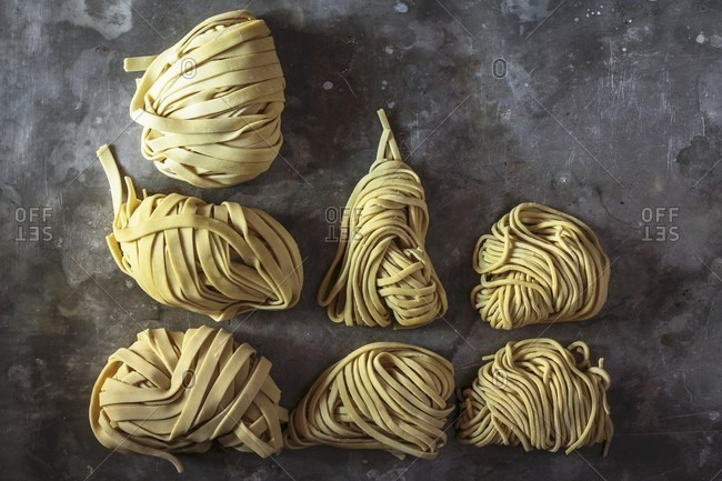 Various egg noodles - Offset Collection