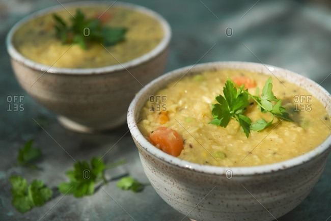 Kitchari with butternut squash - Offset