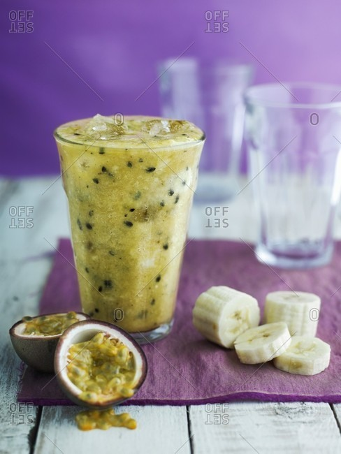 Banana smoothie from the Offset Collection