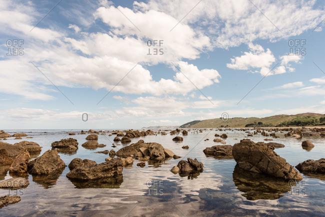 Rocks in Hawke's Bay, New Zealand